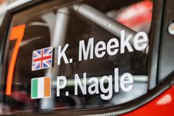 Détail de la voiture de Kris Meeke, Paul Nagle, Citroën C3 WRC, Citroën World Rally Team