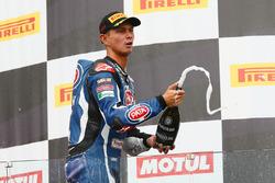 Third place Michael van der Mark, Pata Yamaha