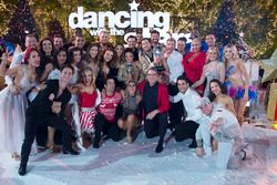 The dance troupe and cast of Season 23 of Dancing With The Stars