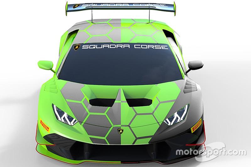 100 Lamborghini Squadra Corse Lamborghini Huracan Super Trofeo