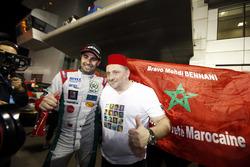 Racewinnaar Mehdi Bennani, Sébastien Loeb Racing, Citroën C-Elysée WTCC met Yves Matton, Citroën Mot