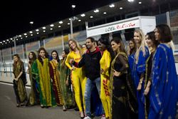Grid kızları, Mehdi Bennani, Sébastien Loeb Racing, Citroën C-Elysée WTCC