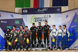 LMP2 Podium: second place #43 RGR Sport by Morand Ligier JSP2 - Nissan: Ricardo Gonzalez, Filipe Alb