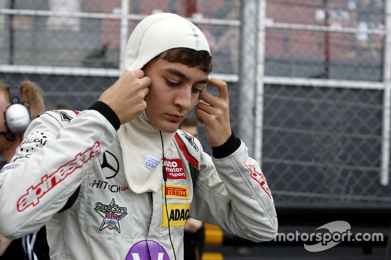 George Russell, Macau GP