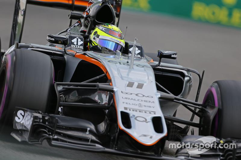 14: Sergio Perez: 143 grandes premios (el 86,67% de los disputados)
