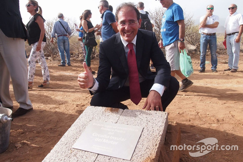 Der künftige Geschäftsführer des Circuito de Tenerife, Walter Sciacca