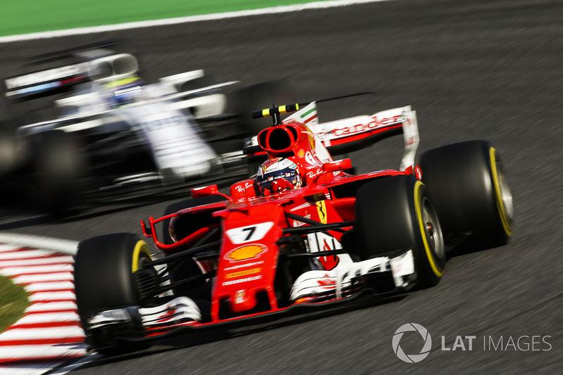 5th: Kimi Raikkonen (Ferrari)