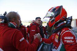 Il vincitore della gara Marcus Armstrong, Prema Powerteam