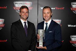 Tequila Patron North American Endurance Cup winnaars Brian Cotter en Rob Moran van AMG Mercedes