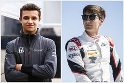 Lando Norris and George Russell