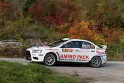 Mattonen, Giulia Taglienti, Mitsubishi Evo IX, Winners Rally Team