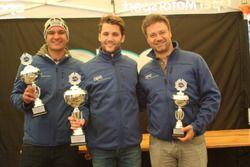 Sandro Fehr, Thierry Kilchenmann, Fabio Gubitosi, Podium Course 1