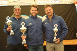 Sandro Fehr, Thierry Kilchenmann, Fabio Gubitosi, Podio Gara 1