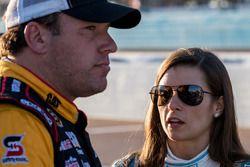 Ryan Newman, Richard Childress Racing, Chevrolet; Danica Patrick, Stewart-Haas Racing, Chevrolet