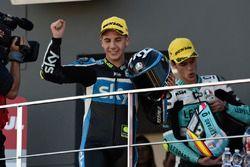 Podium: second place Andrea Migno, SKY Racing Team VR46, KTM