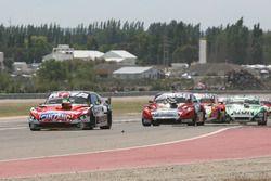 Matias Rossi, Donto Racing Chevrolet, Jose Manuel Urcera, Las Toscas Racing Chevrolet, Agustin Canapino, Jet Racing Chevrolet