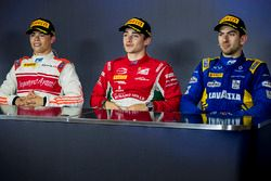 Nyck De Vries, Rapax, Charles Leclerc, PREMA Powerteam and Nicholas Latifi, DAMS