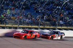 Justin Allgaier, JR Motorsports Chevrolet and Ben Kennedy, GMS Racing Chevrolet