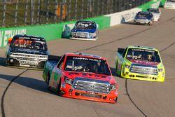 Grant Enfinger, ThorSport Racing Toyota, Matt Crafton, ThorSport Racing Toyota, Josh Reaume, Chevrol