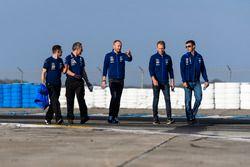 #68 Ford Performance Chip Ganassi Racing Ford GT: Stefan Mücke, Olivier Pla, Billy Johnson walks the