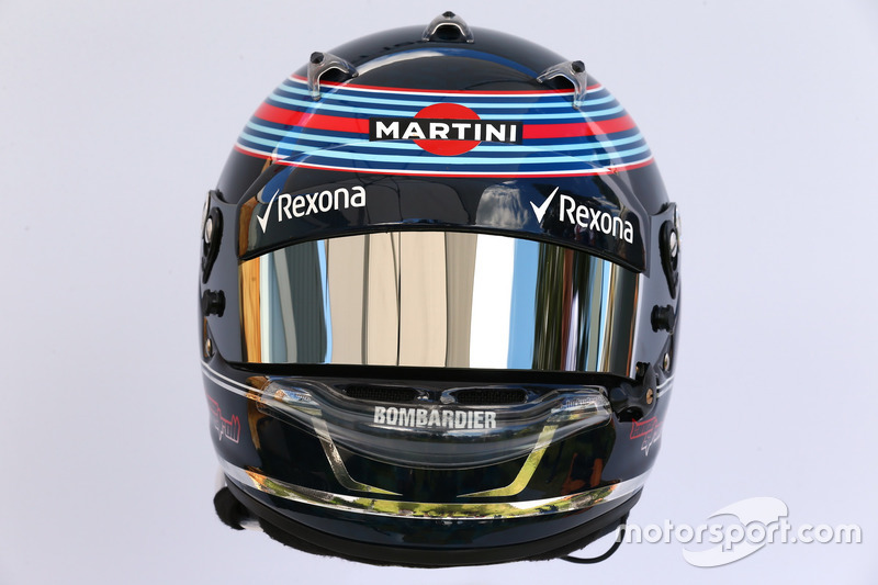 Casco de Lance Stroll, Williams