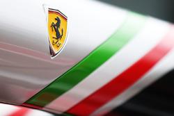 Ferrari pit gantry detail
