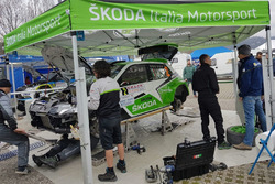 La Skoda Fabia R5, Skoda Motorsport Italia di Umberto Scandola, Guido D'Amore