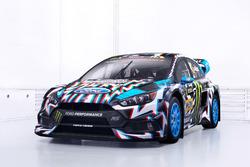 La voiture de Ken Block, Hoonigan Racing Division, Ford Focus