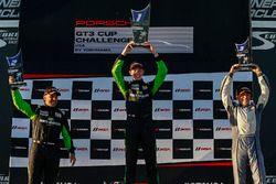 Podium: first place Max DeAngelis, second place Marco Cirone, third place Kurt Fazekas