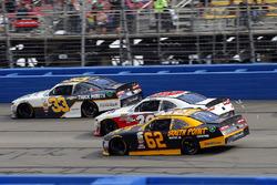 Brendan Gaughan, Richard Childress Racing, Chevrolet; Ryan Sieg, RSS Racing, Chevrolet; Brandon Jone