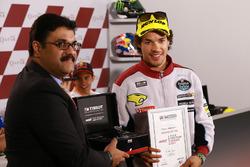 Franco Morbidelli, Marc VDS, pole position Tissot award