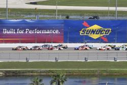 Ty Dillon, Richard Childress Racing Chevrolet, Joey Logano, Team Penske Ford