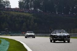 Felipe Massa, Williams, lors de la parade des pilotes