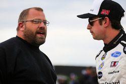 Chase Briscoe, Brad Keselowski Racing Ford and Brian Keselowski
