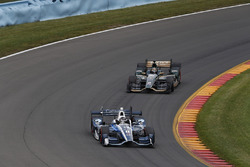 Max Chilton, Chip Ganassi Racing Honda, J.R. Hildebrand, Ed Carpenter Racing Chevrolet