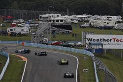 Tony Kanaan, Chip Ganassi Racing Honda, Sébastien Bourdais, Dale Coyne Racing Honda, Simon Pagenaud,