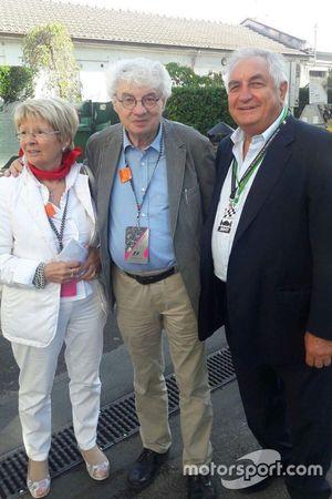 L'architetto Mario Botta all'Autodromo Nazionale di Monza