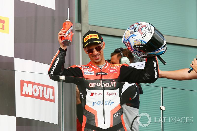 Segundo lugar Marco Melandri, Ducati Team