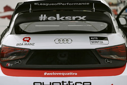 The car of Nico Müller, EKS, Audi S1 EKS RX Quattro