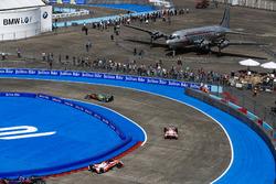 Lucas di Grassi, ABT Schaeffler Audi Sport, Felix Rosenqvist, Mahindra Racing, Nick Heidfeld, Mahindra Racing