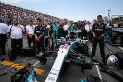 La voiture de Lewis Hamilton, Mercedes-Benz F1 W08