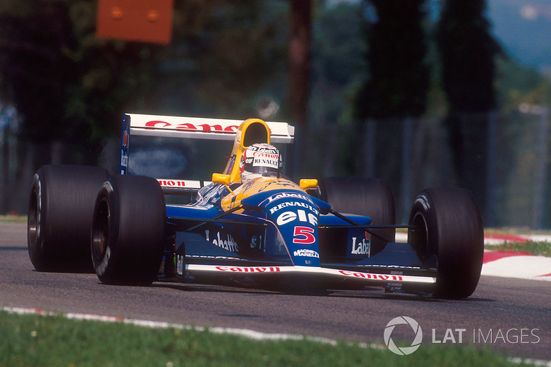 4. Williams FW14B - 1992