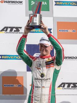 Podium: tercero, Maximilian Günther, Prema Powerteam, Dallara F317 - Mercedes-Benz
