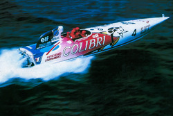 Le bateau Le Colibri de Didier Pironi