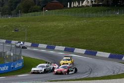 Nico Müller, Audi Sport Team Abt Sportsline, Audi RS 5 DTM, Gary Paffett, Mercedes-AMG Team HWA, Mer