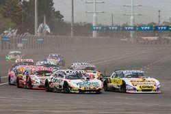 Juan Marcos Angelini, UR Racing Dodge, Julian Santero, Coiro Dole Racing Torino, Matias Jalaf, Indecar CAR Racing Torino