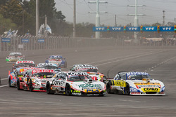 Juan Marcos Angelini, UR Racing Dodge, Julian Santero, Coiro Dole Racing Torino, Matias Jalaf, Indecar CAR Racing Torino