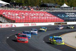 Matt Crafton, ThorSport Racing Toyota, Grant Enfinger, ThorSport Racing Toyota