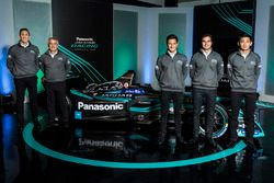 James Barclay, Team Director, Jaguar Racing, Gerd Mäuser, Presidente, Panasonic Jaguar Racing, Mitch