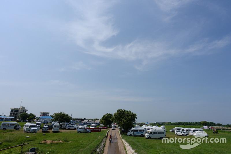 Atmosfer Madras Motor Race Track di Chennai, India